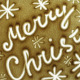 Merry Christmas Drawing In The Sand  - VideoHive Item for Sale