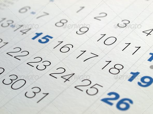 PhotoDune Calendar 702886