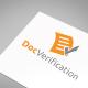 Doc Verification Logo Template - GraphicRiver Item for Sale
