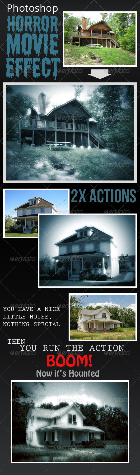GraphicRiver Horror Movie Effect 6708366