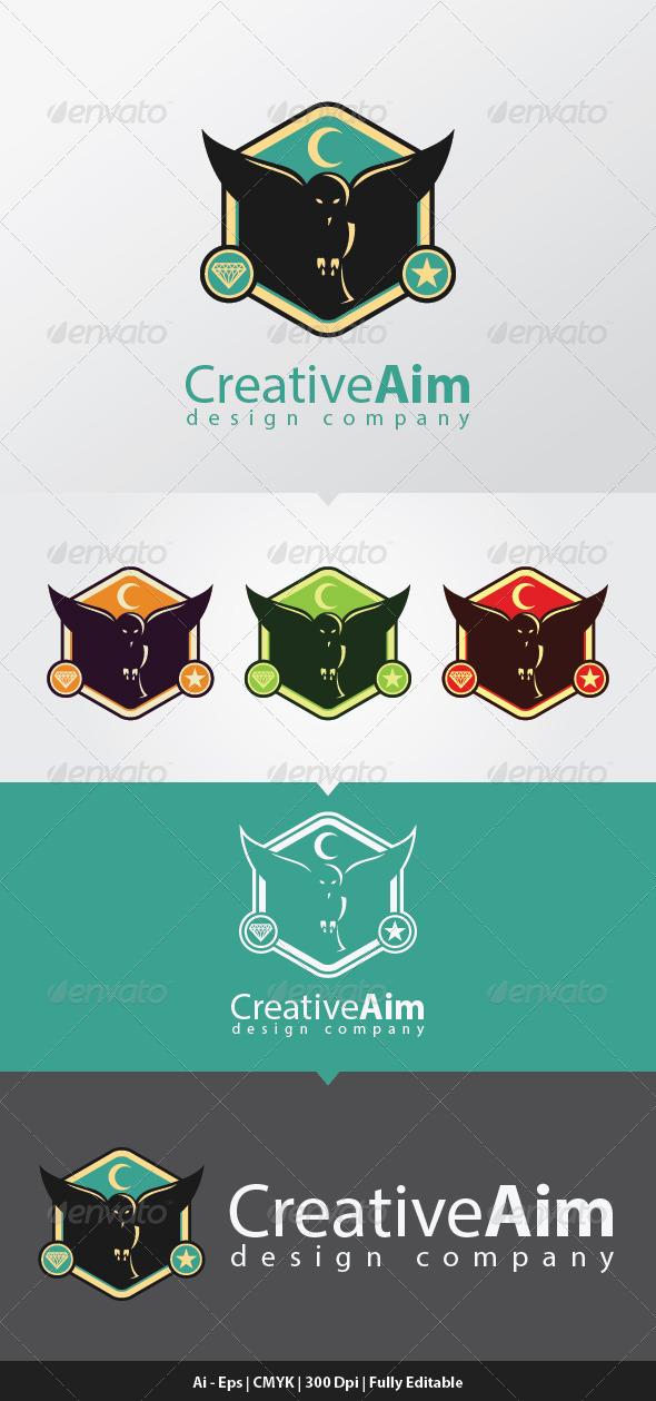 GraphicRiver Creative Aim Logo Template 6708415