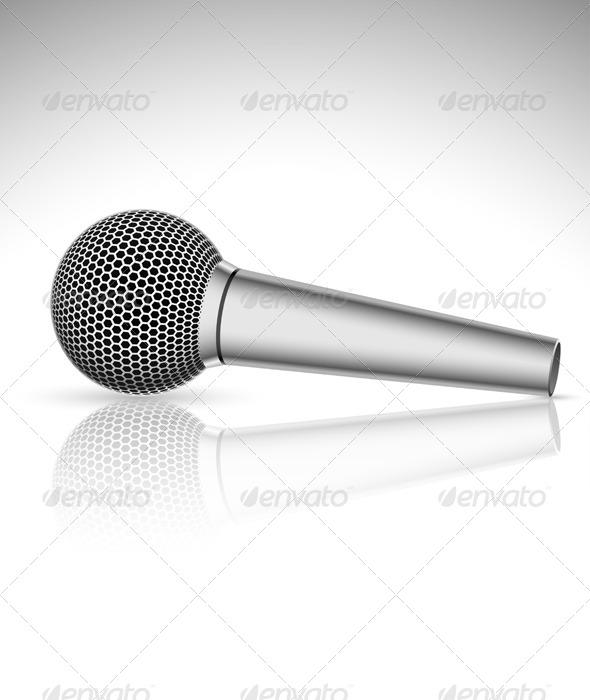 GraphicRiver Microphone 6708852