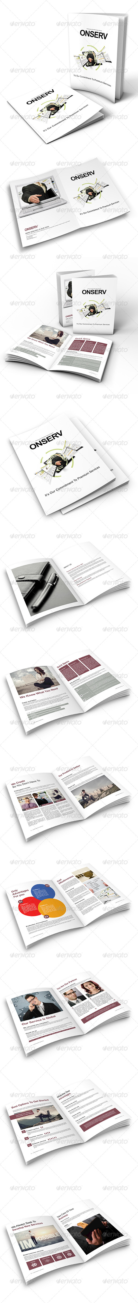 GraphicRiver Modern Corporate Service Brochure 6704568