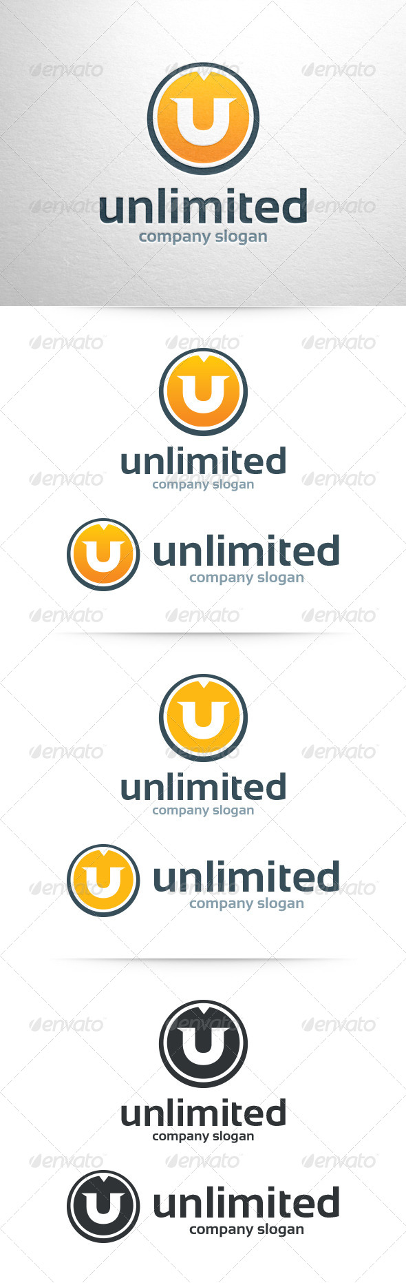 GraphicRiver Letter U Logo Template 6709327