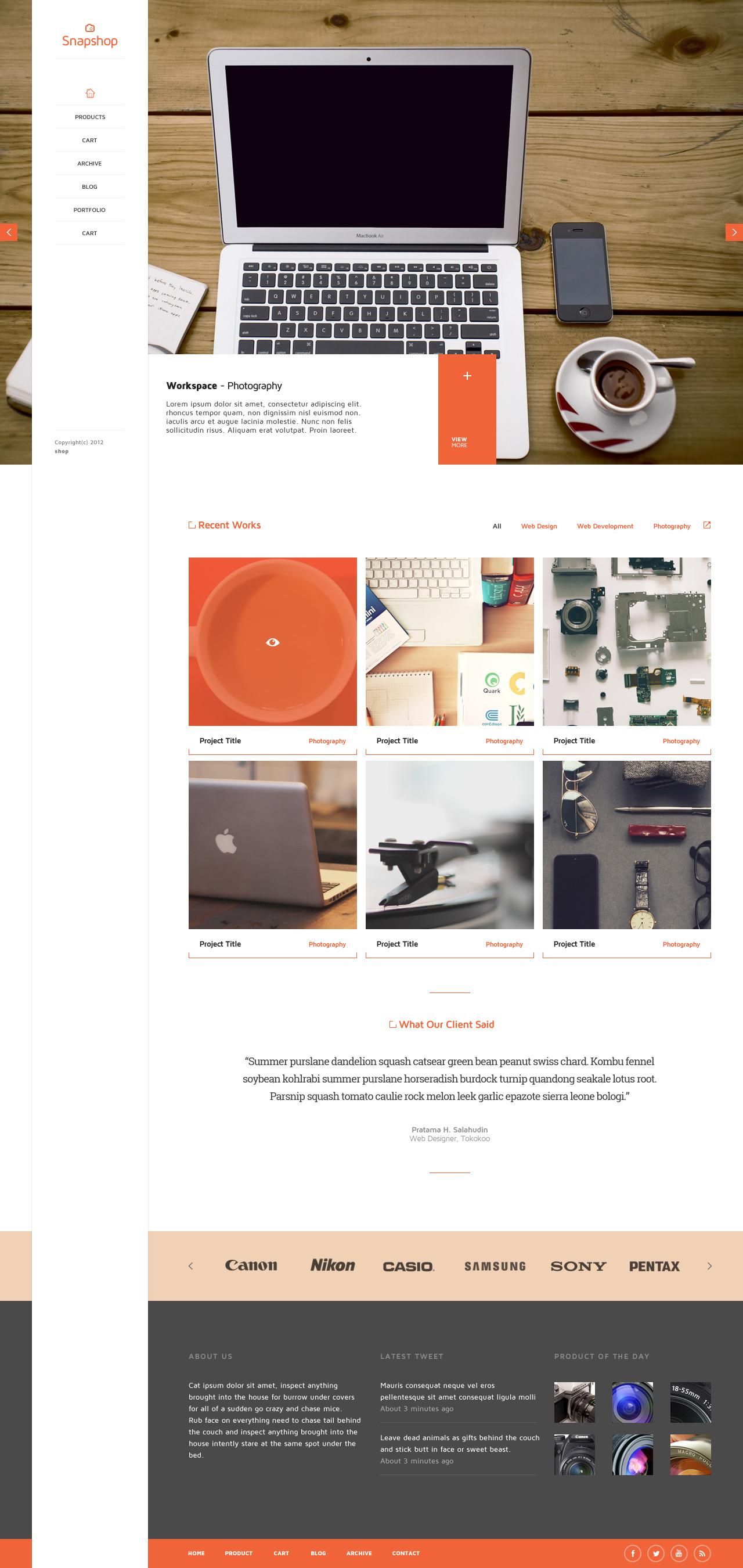 SnapShop - Woocommerce Theme For Gadget Shop