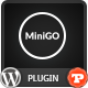 MiniGO - Uber Minimal Flat Coming Soon WP Plugin - CodeCanyon Item for Sale