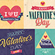 Valentines Day Set Emblems and Decorative Elements - GraphicRiver Item for Sale