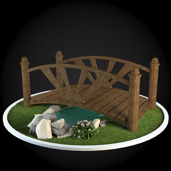 Bridge 022 - 3DOcean Item for Sale