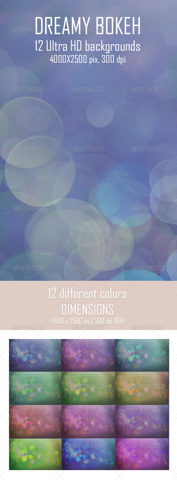 GraphicRiver Dreamy Bokeh Backgrounds 6709964