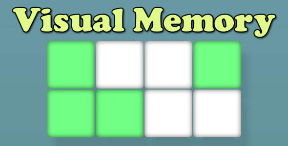 CodeCanyon Visual Memory 6710302