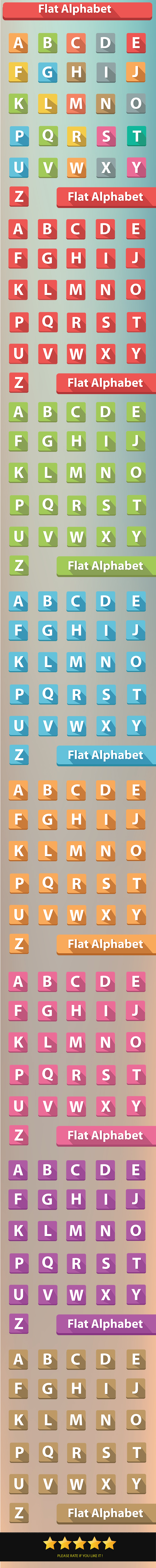 GraphicRiver Alphabet Buttons 6710375