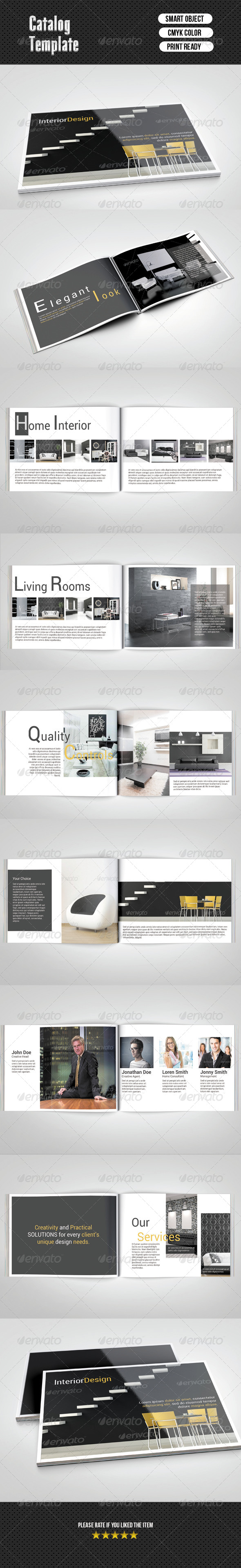 Catalog Psd Free Design Brochure 16 Pages Corporate