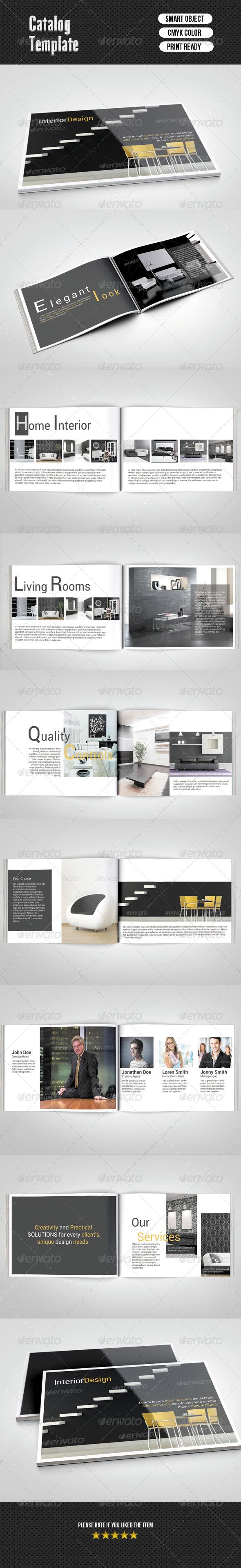 GraphicRiver Catalog- Interior Design 16 Pages 6711199