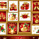 Set of traditional christmas elements - GraphicRiver Item for Sale