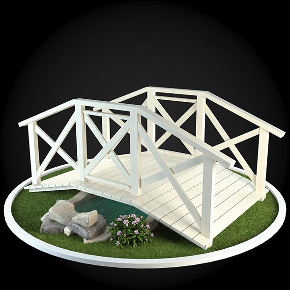 Bridge 027 - 3DOcean Item for Sale