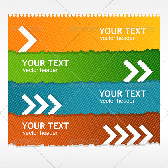 GraphicRiver Vector Colorful Text Box 6712465