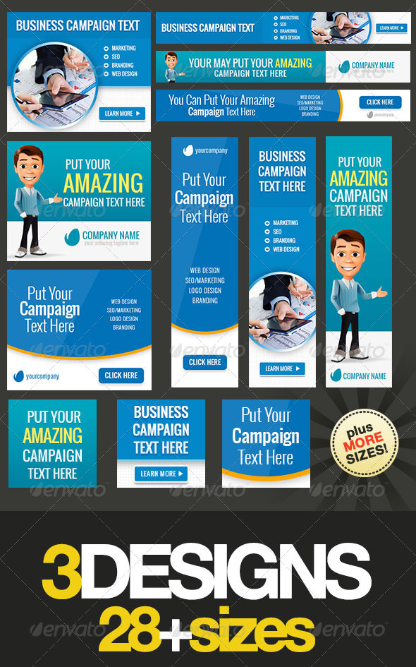 GraphicRiver Multipurpose Web Banner Design Bundle 5 6712560