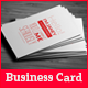 Typographic Business Card - GraphicRiver Item for Sale