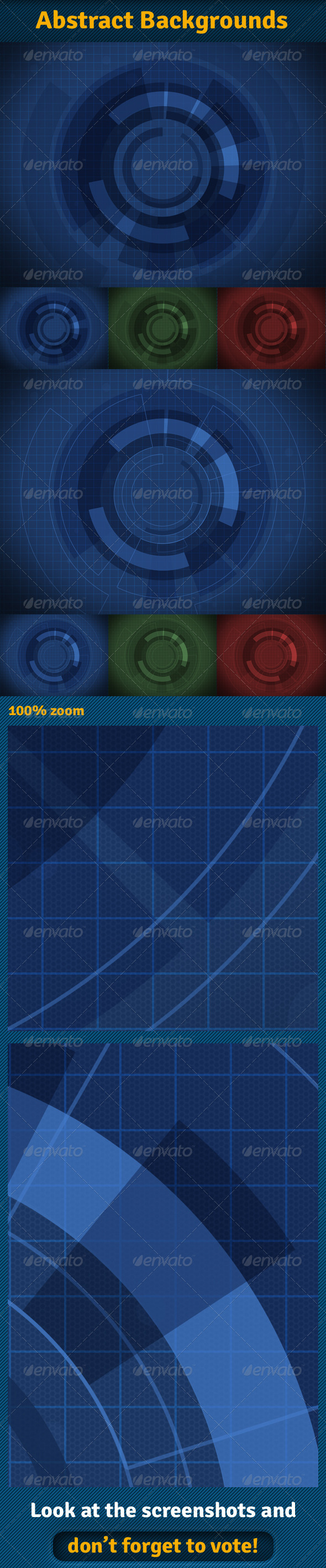 GraphicRiver Abstract Backgrounds 03 6713341