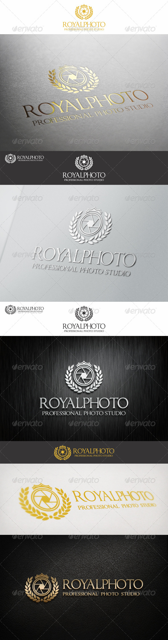 Royal Photo Professional Studio Logo - Crests Logo Templates