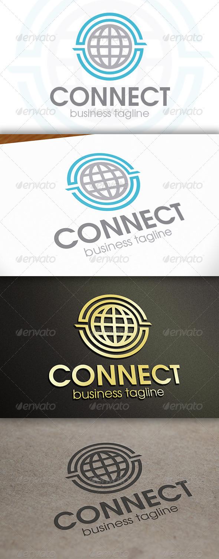 GraphicRiver World Connect Logo 6713917