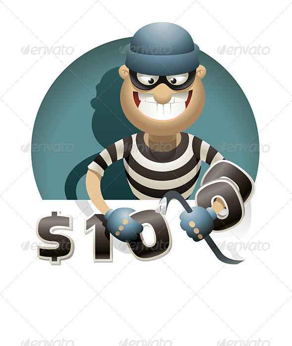 GraphicRiver Theft Money 6714196