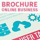 Online Business Brochure Flat Design  - GraphicRiver Item for Sale