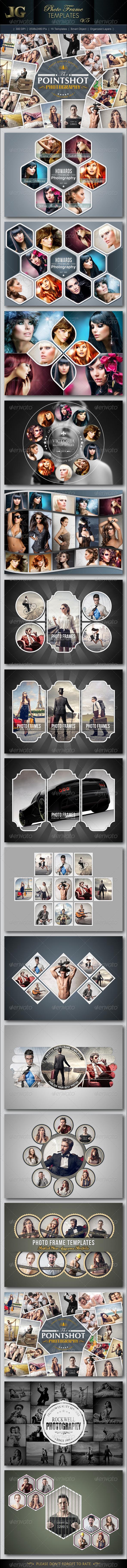 GraphicRiver Photo Frame Templates V5 6714851