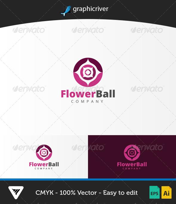 GraphicRiver FlowerBall Logo 6714857