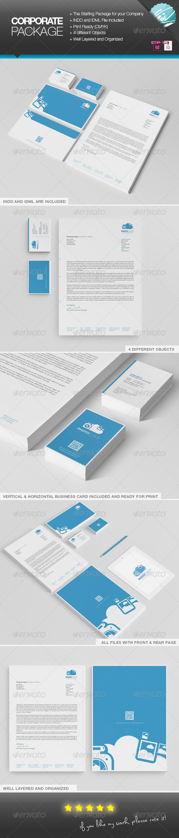 GraphicRiver PhotoCloud Corporate Print Package 6715326