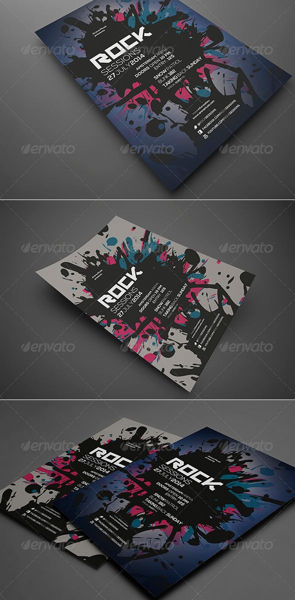 GraphicRiver Splash Flyer Vol 3 6715348