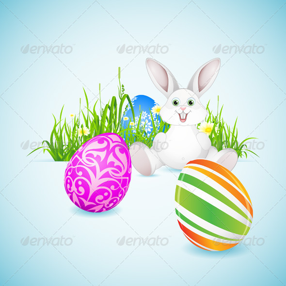 GraphicRiver Easter Background 6715515