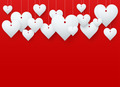 Background beautiful red heart.