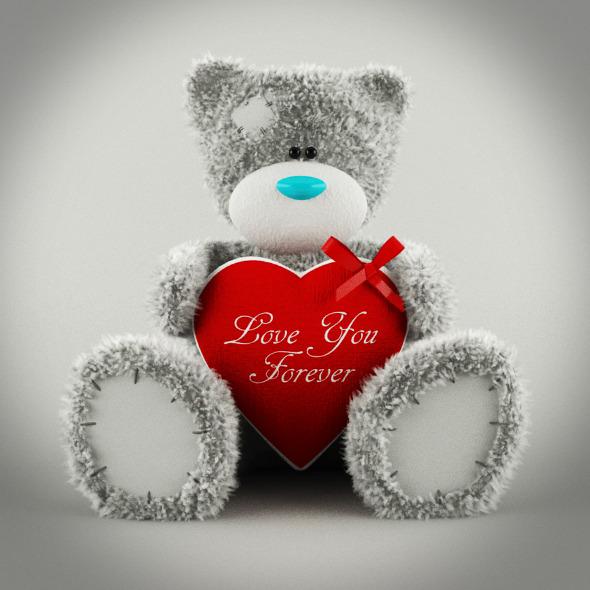 3DOcean Tatty Teddy Bear 6715786