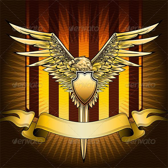 GraphicRiver Eagle Shield 6715999