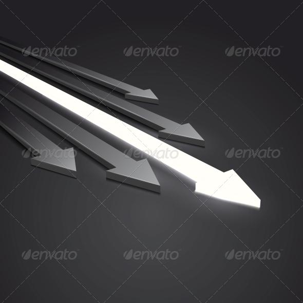 GraphicRiver Arrow 3D 6716000