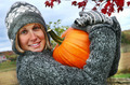 Gathering pumpkins for Thanksgiving  - PhotoDune Item for Sale
