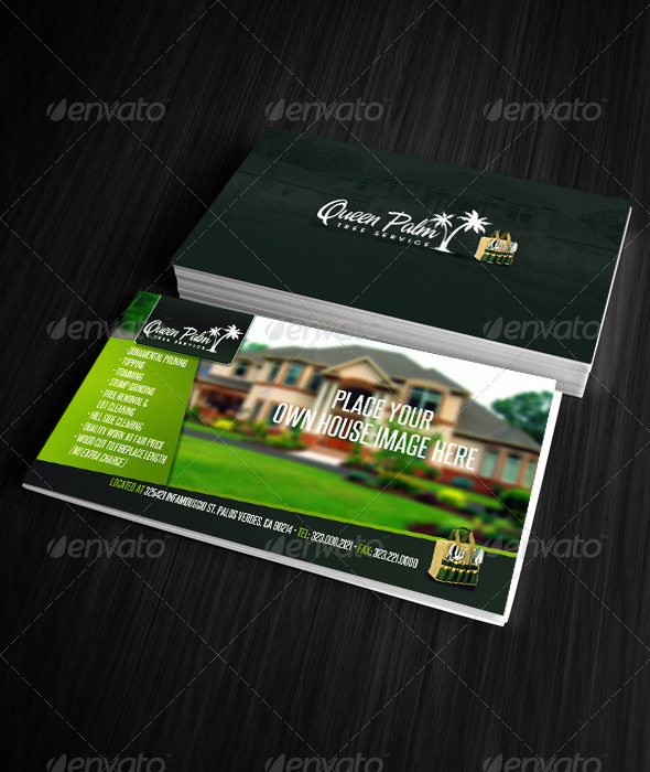 GraphicRiver Gardening Business Card 3 6706813