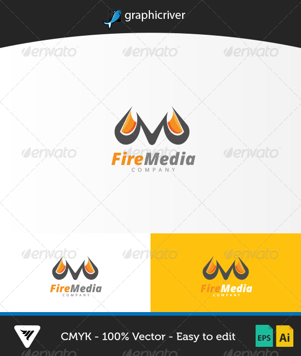 GraphicRiver FireMedia Logo 6716554