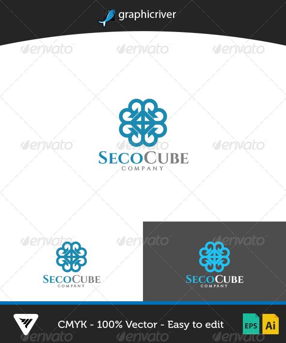 GraphicRiver SecoCube Logo 6716818