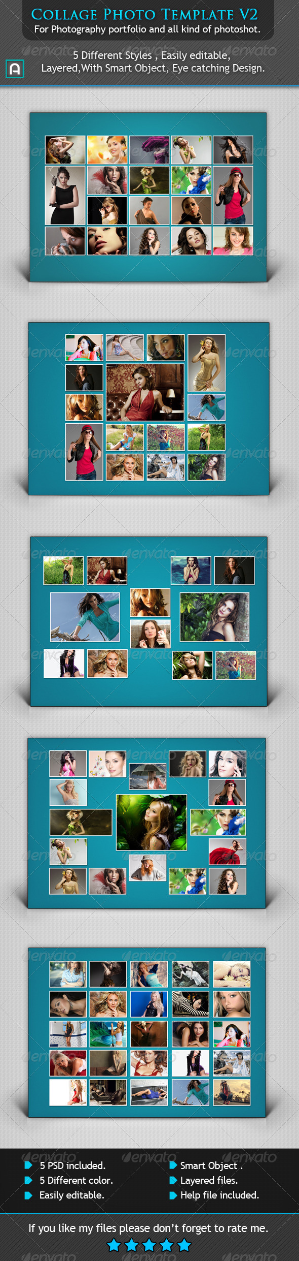 GraphicRiver Collage Photo Template V2 6717719