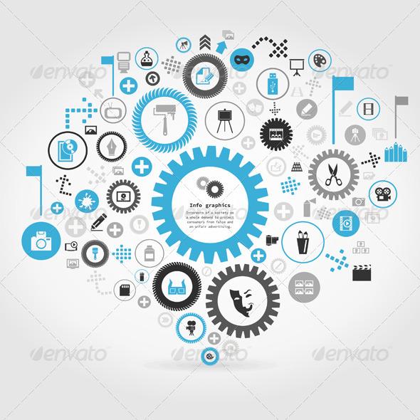 GraphicRiver Art a Gear Wheel 6717847