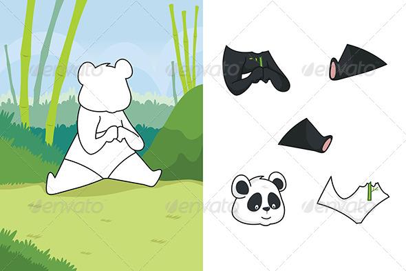 GraphicRiver Animal Puzzle 6717880