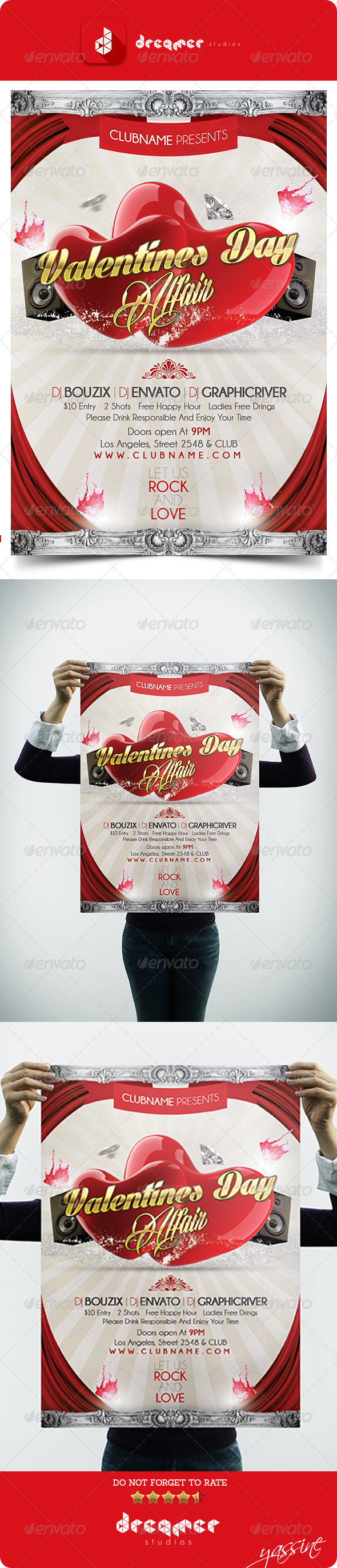 GraphicRiver Valentines Day Affair 6718563