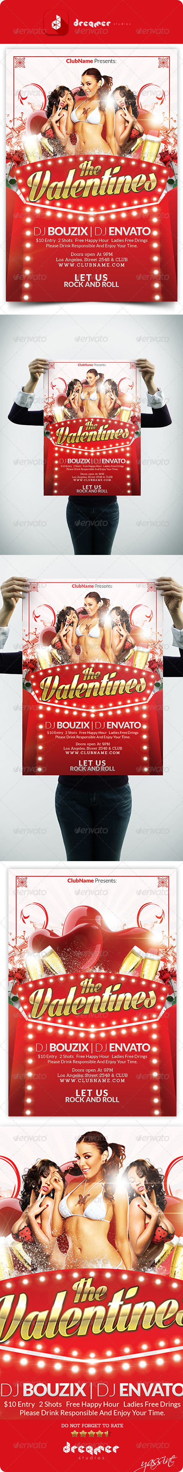 GraphicRiver The Valentine Party 6718829