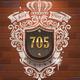 Vintage Home Number Sign - GraphicRiver Item for Sale