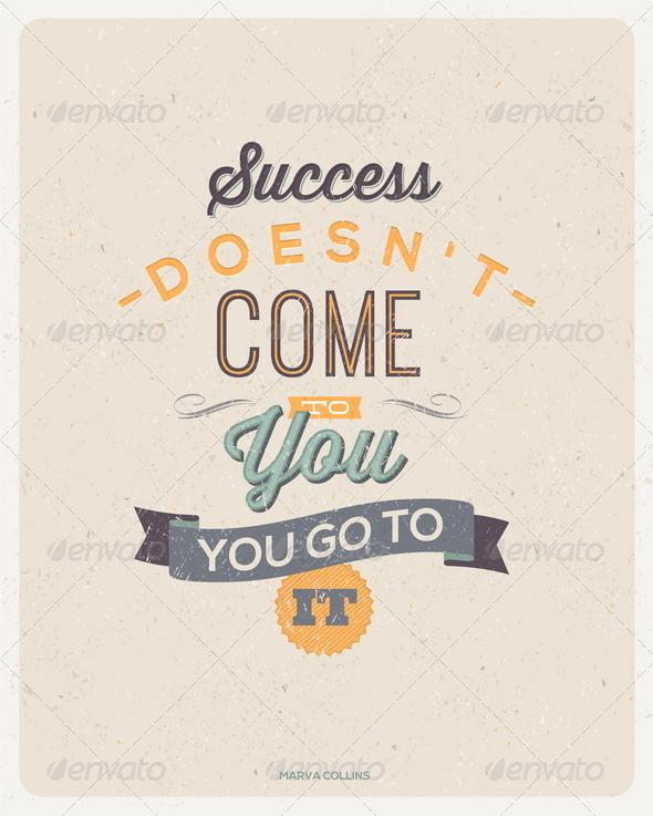 GraphicRiver Motivating Quotes Design 6719018