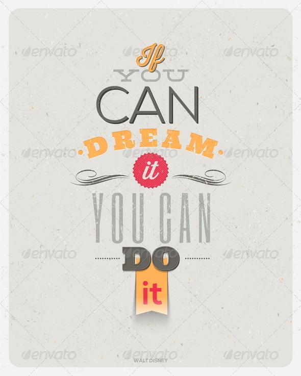 GraphicRiver Motivating Quotes Design 6719327