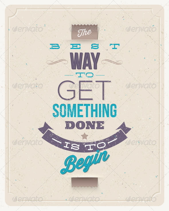 GraphicRiver Motivating Quotes Design 6719337