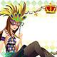 Mardi Gras Background - GraphicRiver Item for Sale
